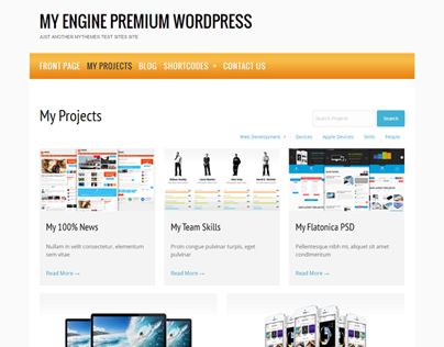 My Engine Premium WordPress Theme