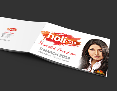 Holi 2014 - Proposal Design