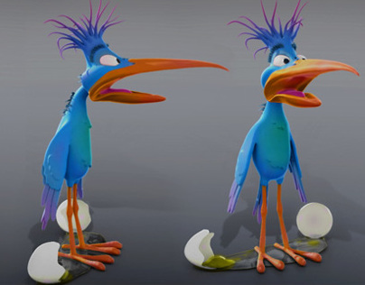 Creating a Stylized Cartoon Bird in ZBrush