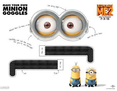 Despicable Me 2 Printables
