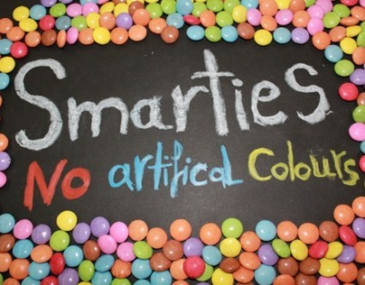 Advertising ads : Smarties