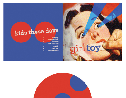 GirlToy: Album Design