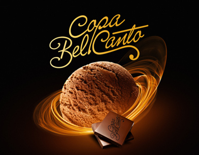 Copa bel canto packaging