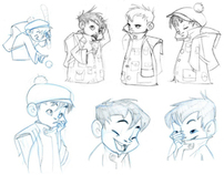 Character Design for Animation\Expression & Model Sheet
