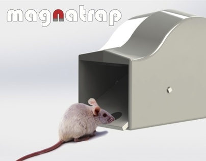Magnatrap: The Humane Mouse Trap