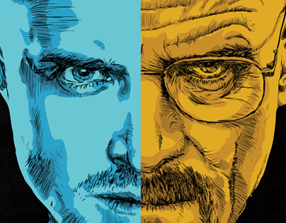 Breaking Bad Poster Illustration