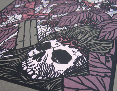 Thorn King - Screen printed poster