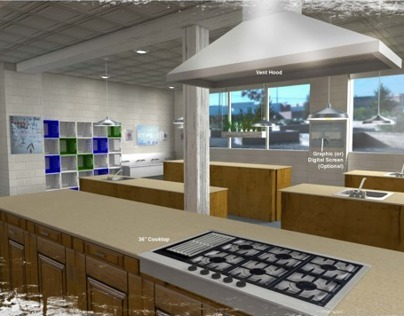 Design for the Hunger Task Force Kitchen Remodel
