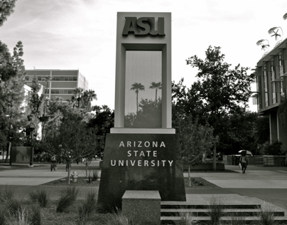 Sun Devil Country || Black & White