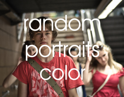 Random Portraits- Color