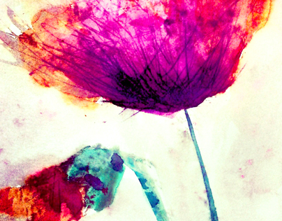 Poppies | Watercolour paint