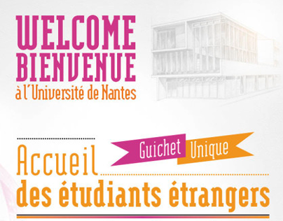 Nantes University ::: Students Welcome Centre