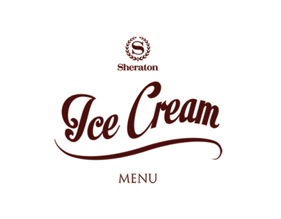 Sheraton Ice Cream Menu