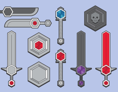 RPG Fantasy Weapons