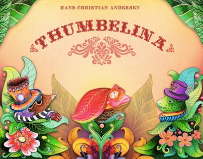 Thumbelina. 	Interactive book for iPad