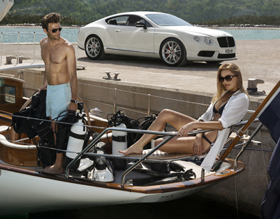 Bentley : Lifestyle Retouch : Sailing