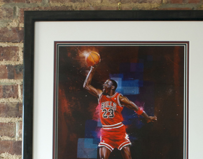 Air Jordan - Custom Framing