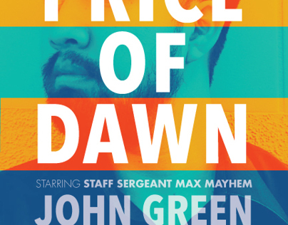 'The Price of Dawn' Book Cover Concept