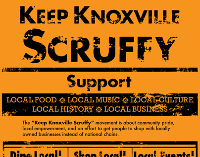 Keep Knoxville Scruffy