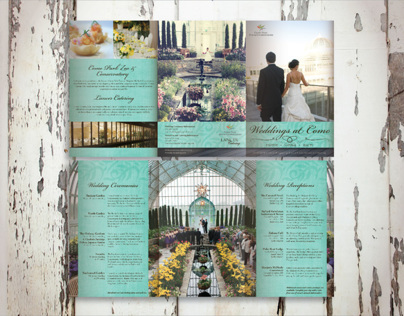 Wedding Show Print Collateral