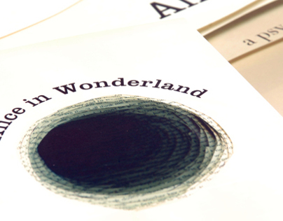 Book Jacket & Poster: Alice in Wonderland