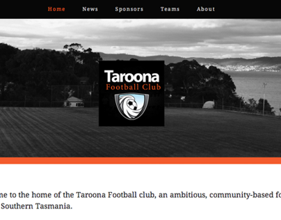 Taroona Football Club Website
