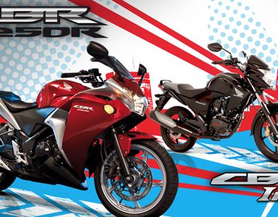 Piezas gráficas para Honda Motos