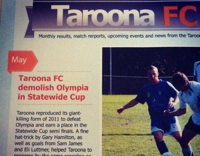 Taroona FC Marketing