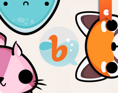 Bubblys Animal Animated Stickers