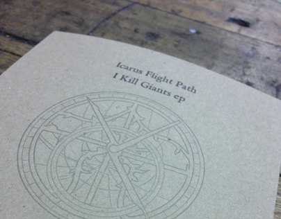 Letterpress CD Artwork