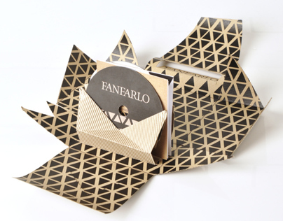 Starpack packaging awards - Fanfarlo CD packaging
