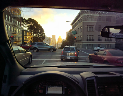 'OK Glass.' California Landscapes #ThroughGlass