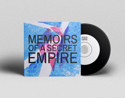 MEMOIRS OF A SECRET EMPIRE // cd cover