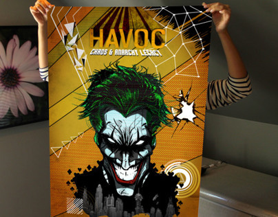 The Joker Havoc Poster