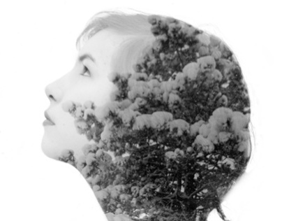 Tree/Self Double Exposures