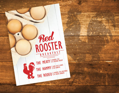 Red Rooster Breakfast Branding