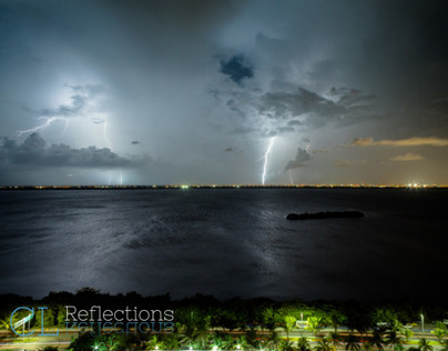 Lightning in Cancun