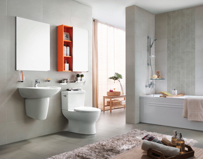 Bathroom / Orange Pop