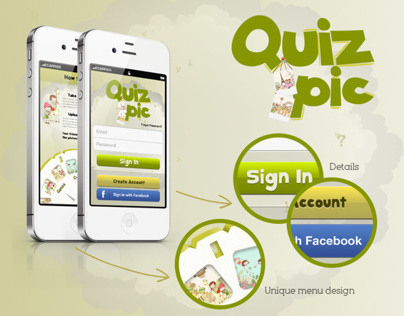 Quiz Pic iPhone App