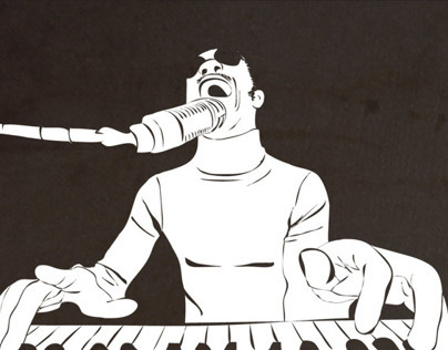 Stevie Wonder Illustration