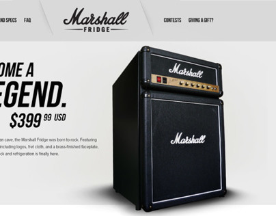 Marshall Fridge (Work in Progress)