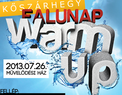 Kőszárhegy Falunap Warm Up Party 2013