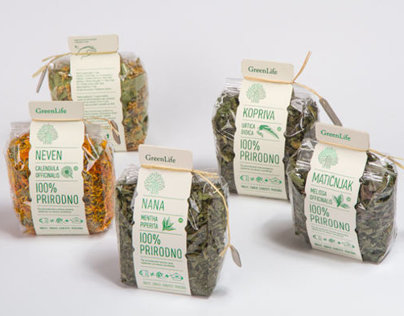 GreenLife // Tea packaging