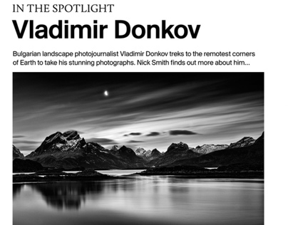 Outdoor Photography Magazine - feature