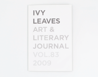 Ivy Leaves Art & Literary Journal 2009