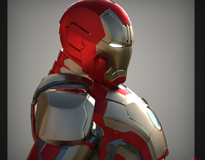 Iron Man Mk 42 visualization