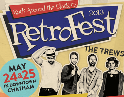 Retrofest Event Design