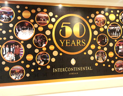 InterContinantal Hotel- Jordan 50 Years