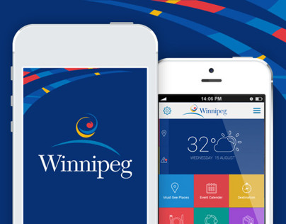 Winnipeg Mobile App Design