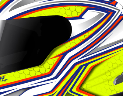 Helmet graphics